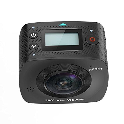 ELE CAM 360 Grad Panorama Kamera VR-Vollsphärenkamera 220° Fisheye - 6
