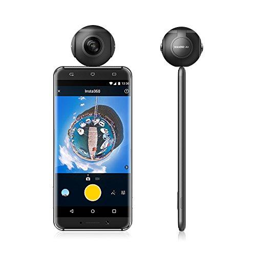 Insta360 Air Compact Mini Panorama 360 Grad 3K HD Kamera Dual Weitwinkel-Fischaugen-Objektiv VR Modus für OPPO R9 / Huawei P9 Mate9 / LG V20 Andriod Smartphone - 3