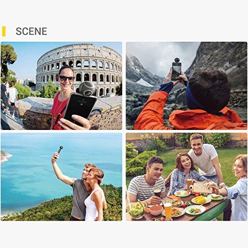 Insta360 Air Compact Mini Panorama 360 Grad 3K HD Kamera Dual Weitwinkel-Fischaugen-Objektiv VR Modus für OPPO R9 / Huawei P9 Mate9 / LG V20 Andriod Smartphone - 8
