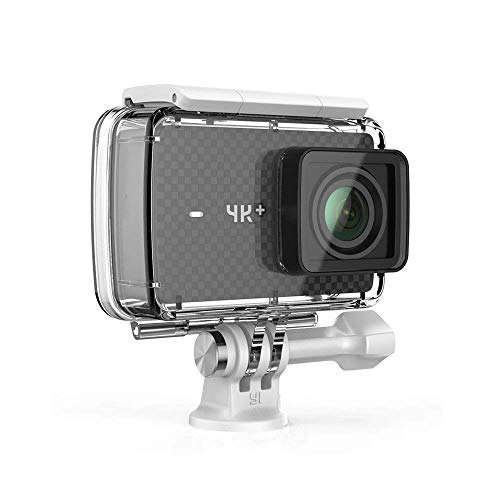 YI 4K Plus Action Kamera Schwarz 4K/60fps 12MP Wasserfest