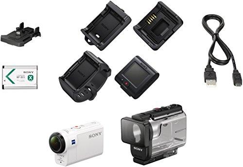 Sony HDR-AS300R Full HD Action Cam mit RM-LVR3 Live Remote Fernbedienung weiß - 28