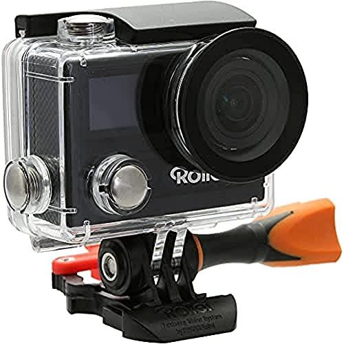 Rollei Actioncam 430 - Leistungsstarker WiFi Camcorder mit 4K, 2K, Full HD - Schwarz