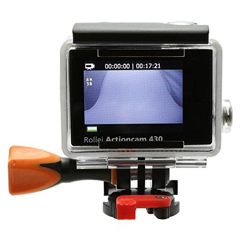 Rollei Actioncam 430 - Leistungsstarker WiFi Camcorder mit 4K, 2K, Full HD Videoauflösung und Slow-Motion, U3 Karten verwenden - Schwarz - 12