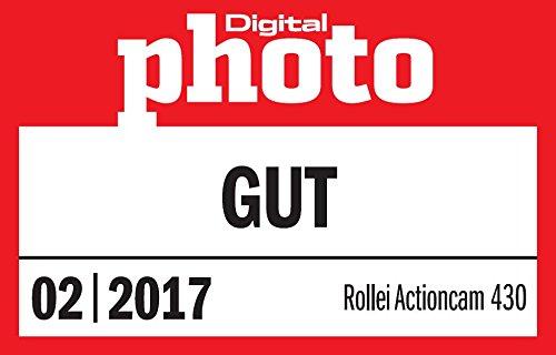 Rollei Actioncam 430 – Leistungsstarker WiFi Camcorder mit 4K, 2K, Full HD – Schwarz - 13