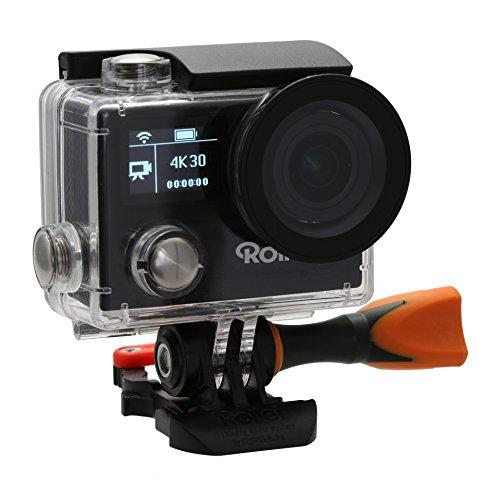 Rollei Actioncam 430 - Leistungsstarker WiFi Camcorder mit 4K, 2K, Full HD Videoauflösung und Slow-Motion, U3 Karten verwenden - Schwarz - 5