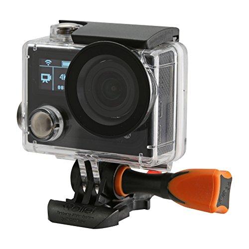 Rollei Actioncam 430 - Leistungsstarker WiFi Camcorder mit 4K, 2K, Full HD Videoauflösung und Slow-Motion, U3 Karten verwenden - Schwarz - 6