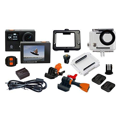 Rollei Actioncam 430 - Leistungsstarker WiFi Camcorder mit 4K, 2K, Full HD Videoauflösung und Slow-Motion, U3 Karten verwenden - Schwarz - 7