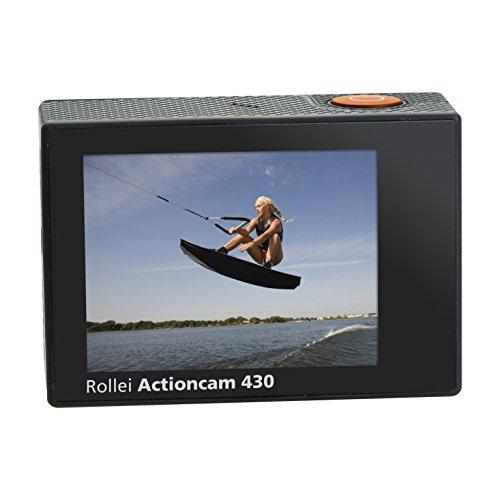 Rollei Actioncam 430 - Leistungsstarker WiFi Camcorder mit 4K, 2K, Full HD Videoauflösung und Slow-Motion, U3 Karten verwenden - Schwarz - 8