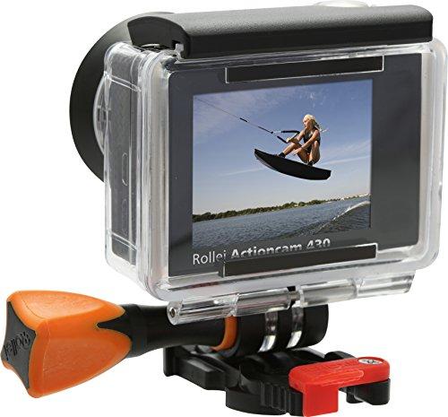Rollei Actioncam 430 - Leistungsstarker WiFi Camcorder mit 4K, 2K, Full HD Videoauflösung und Slow-Motion, U3 Karten verwenden - Schwarz - 9