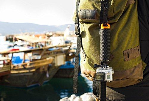Racksoy Wasserdicht Aufschwimmende Griff Halterung Stange Flotieren Stick für Gopro Hero 5, 4, 3+, 3, 2, 1 und Action Cam, Sport Kameras usw. - 3