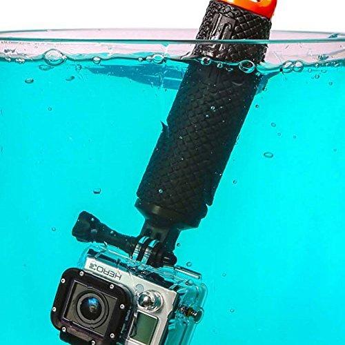 Racksoy Wasserdicht Aufschwimmende Griff Halterung Stange Flotieren Stick für Gopro Hero 5, 4, 3+, 3, 2, 1 und Action Cam, Sport Kameras usw. - 5