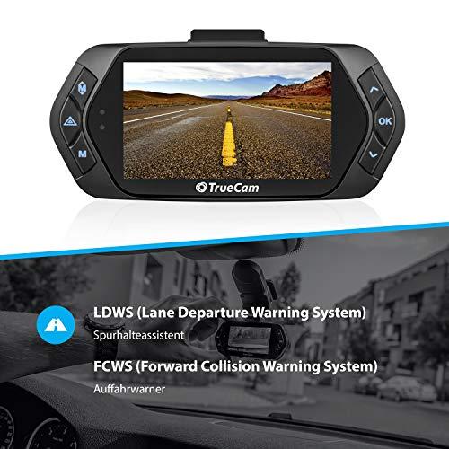 TrueCam A7s GPS Professionelle Dashcam Autokamera 2K Super HD (Full HD 1080p Bei 21:9 Super Breitbild) mit Blitzerwarner - 3