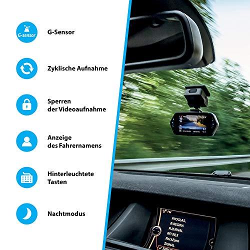 TrueCam A7s GPS Professionelle Dashcam Autokamera 2K Super HD (Full HD 1080p Bei 21:9 Super Breitbild) mit Blitzerwarner - 6
