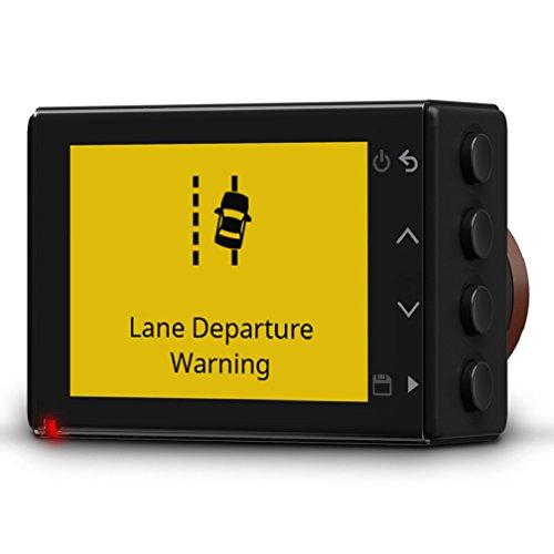 Garmin Dash Cam 55 - ultrakompaktes Design, 3,7 MP Kamera mit Schnappschussfunktion, Sprachsteuerung, Fahrspurassistent, Go!-Alarm und Überwachungsmodus Beim Parken - 3