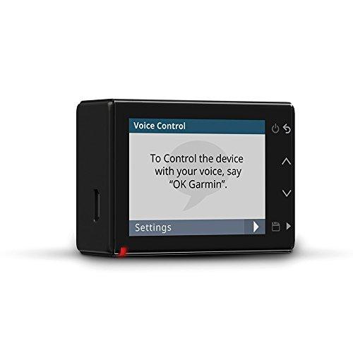 Garmin Dash Cam 55 - ultrakompaktes Design, 3,7 MP Kamera mit Schnappschussfunktion, Sprachsteuerung, Fahrspurassistent, Go!-Alarm und Überwachungsmodus Beim Parken - 7