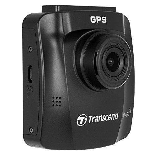 Transcend TS16GDP230M DrivePro 230 Full-HD Autokamera (6,1 cm (2,4 Zoll), Farbdisplay, Inklusive 16GB Micro SDHC Speicherkarte, MLC, Wifi, Speed Alarm, GPS) schwarz - 2