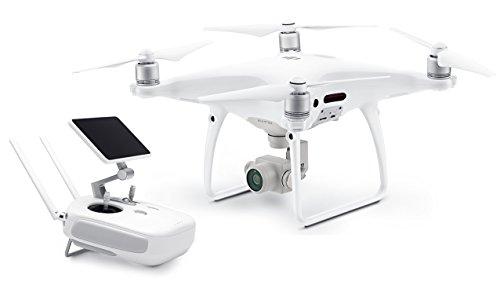 DJI Phantom 4 Pro + Set - Drohne mit Videoübertragungsreichweite von 7 km, Videos bei 60 fps oder H.265 4K Videos bei 30 fps, beides mit einer Rate von 100 Mbit/s. - Weiß - 2