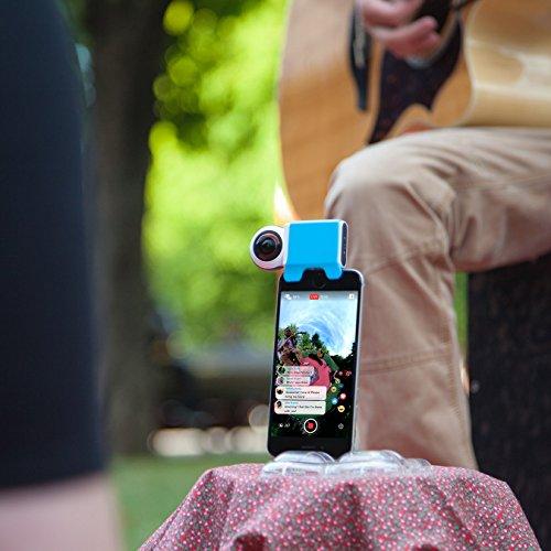 Giroptic iO - 360 Grad HD-Kamera für iPhone und iPad - 5