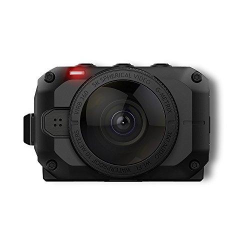 Garmin VIRB 360 - wasserdichte 360-Grad-Kamera mit GPS und bis zu 5,7K/30fps Auflösung oder 4K/30fps mit Auto-Stitching Funktion und sphärischer Bildstabilisierung - 3