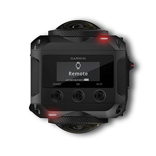 Garmin VIRB 360 - wasserdichte 360-Grad-Kamera mit GPS und bis zu 5,7K/30fps Auflösung oder 4K/30fps mit Auto-Stitching Funktion und sphärischer Bildstabilisierung - 4