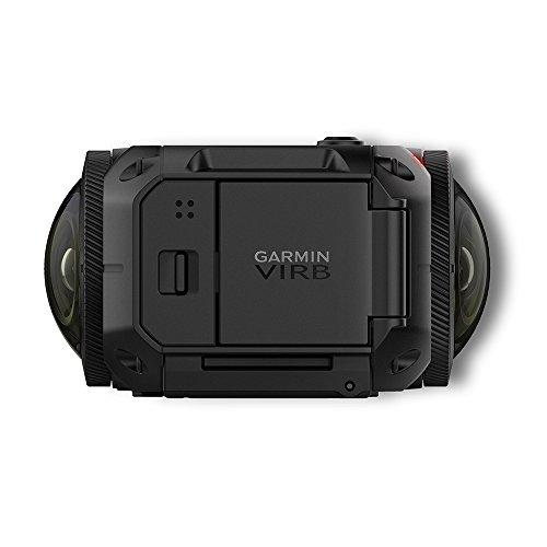 Garmin VIRB 360 - wasserdichte 360-Grad-Kamera mit GPS und bis zu 5,7K/30fps Auflösung oder 4K/30fps mit Auto-Stitching Funktion und sphärischer Bildstabilisierung - 6