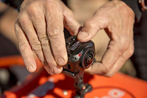 Garmin VIRB 360 - wasserdichte 360-Grad-Kamera mit GPS und bis zu 5,7K/30fps Auflösung oder 4K/30fps mit Auto-Stitching Funktion und sphärischer Bildstabilisierung - 10