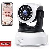 Victure 720P HD WLAN IP Kamera,Überwachungskamera mit Nachtsicht, Bewegungserkennung, Zwei-Wege Audio,Sicherheitskamera Home Indoor-Kamera für...