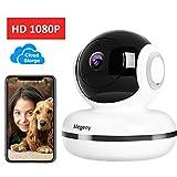 megeny HD 1080P WLAN Kamera IP Überwachungskamera mit Nachtsicht,Bewegungsmelder,Fernalarm,2-Way Audio,App Kontrolle,Indoor WiFi IP Camera,Home...