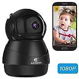 1080P WLAN IP Kamera Überwachungskamera Volles HD Kabellos Innenkamera Nachtsicht Bewegungserkennung 2-Wege-Audio Heimsicherheit Überwachung...
