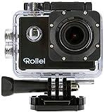 Rollei Actioncam 525 - WiFi Action Cam (Actionkamera) mit 4k Video Auflösung, Weitwinkelobjektiv, bis 40 m wasserfest, inkl....