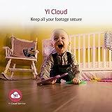 YI Dome Kamera 1080p Überwachungskamera WiFi IP Kamera Smart Home mit Nachtsicht Bewegungsalarm Auto-Rotation, 2 Wege Audio Haus Monitor Baby Monitor...