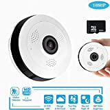 Überwachungskamera Hd 360 Grad Panoramic Wide Winkel Mini CCTV Camera Smart Ipc Wireless Fisheye Ip Camera P2p 960p Hd Home Security WiFi Kamera