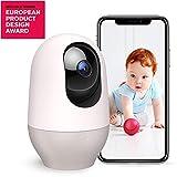 Nooie Babyphone mit Kamera WLAN IP Überwachungskamera innen 1080P Pan-Tilt-Zoom Haustier Kamera Bewegungserkennung Nachtsicht Zwei Wege Audio...