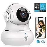 Überwachungskamera, Littlelf WLAN IP Kamera 1080P HD WiFi Kamera mit 360°Schwenkbare Baby Monitor, Zwei-Wege-Audio, Bewegungserkennung, Nachtsicht...