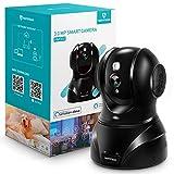 HeimVision 3MP WLAN IP Kamera Überwachungskamera 360° Schwenkbare Kamera Baby/Haustier/Zuhause Monitor, Innenraumsicherung mit Nachtsicht...